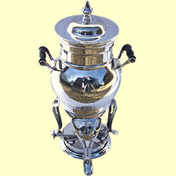 Samovar Presented to F/Lt V.R. Paterson - Click for the bigger picture