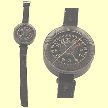 Luftwaffe Armbandkompass Wrist Compass - Click for the bigger picture
