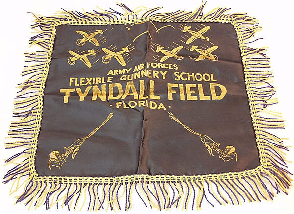 U.S. Army Air Force Tyndall Field Cushion Cover - Click for the bigger picture