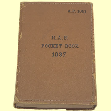 RAF Pocket Book 1937 - Click for the bigger picture