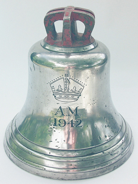 RAF ' Scramble Bell' dated 1942 - Click for the bigger picture