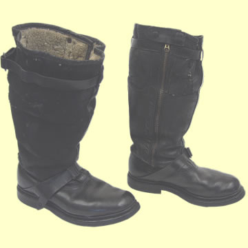 Luftwaffe Single Zip Flying Boots - Click for the bigger picture