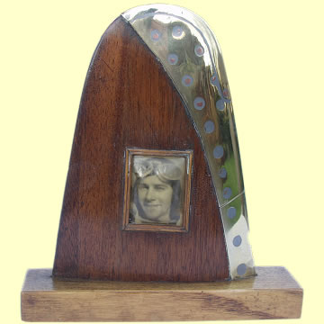 Trench Art Picture Frame - Click for the bigger picture