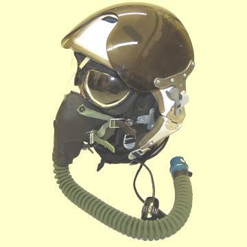 Soviet Leather Flying Helmet - Click for the bigger picture