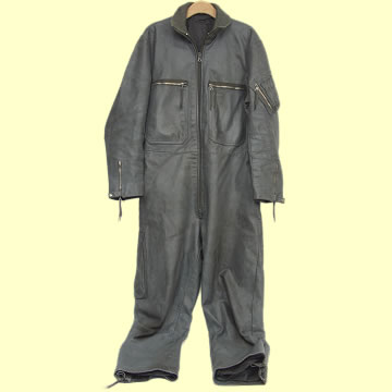 Luftwaffe Leather Flight Suit - Click for the bigger picture