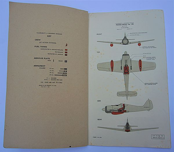 Vulnerability & Armament of German Aircraft 1944 - Click for the bigger picture