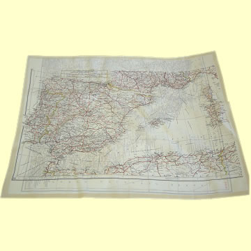 WWII Escape Map Sheets K3/H2 - Click for the bigger picture