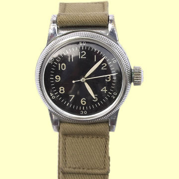 USAAF Type A-11 Pilot's Watch by Waltham - Click for the bigger picture