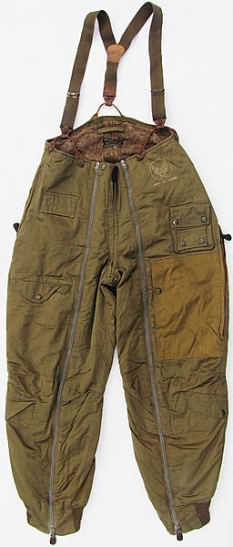 USAAF A-11A Intermediate Flight Trousers - Click for the bigger picture