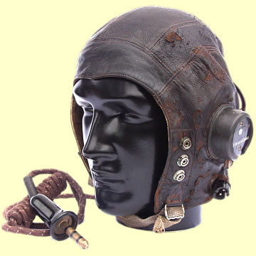 RAF C type Flying Helmet - Click for the bigger picture