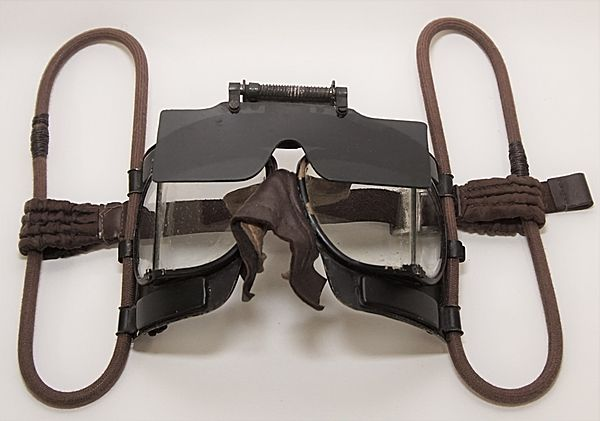 RAF Mk1V Flying Goggles 22C/111 - Click for the bigger picture