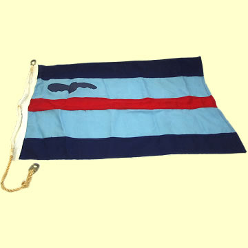 RAF Squadron Leader's Pennant - Click for the bigger picture