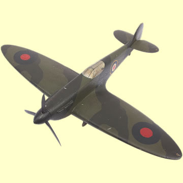 Supermarine Spitfire Model Aircraft - Click for the bigger picture