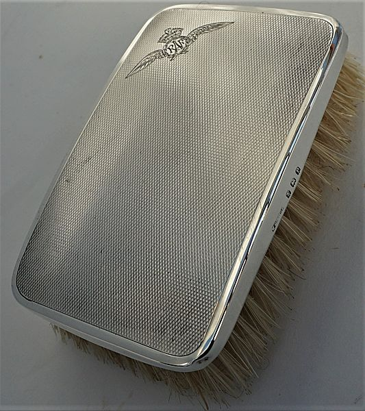 RAF WW11 Silver Hair Brush - Click for the bigger picture