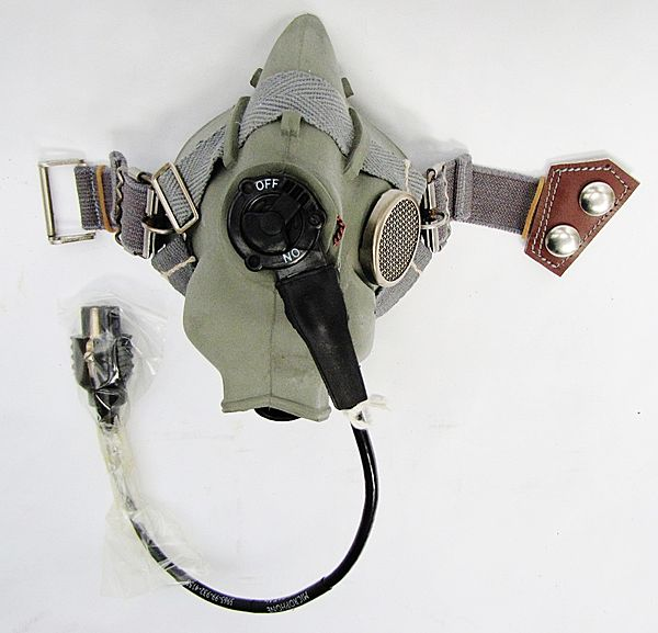 RAF Type H Oxygen Mask - Click for the bigger picture