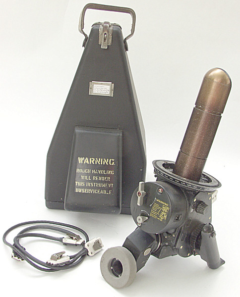 RAF Periscoptic Sextant Mk. 11A, model no. 6B/434-3796 - Click for the bigger picture