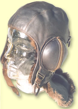 Naval \'C\' Type Aviation Headgear - Click for the bigger picture