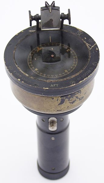 RAF Hand Bearing Compass Type 06A - Click for the bigger picture