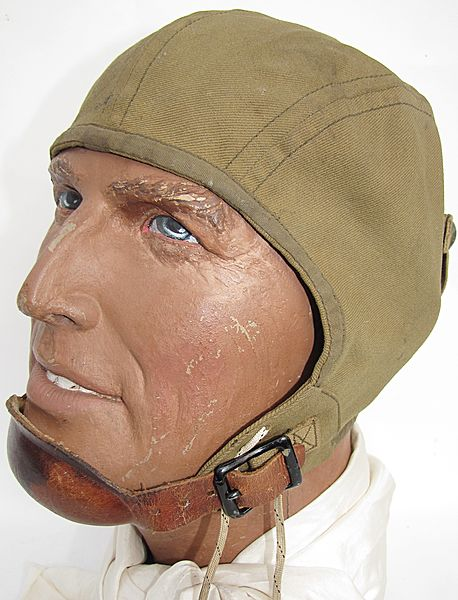 USAAF A-8 Summer Flying Helmet - Click for the bigger picture