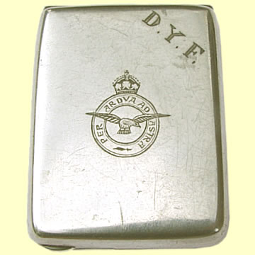 RAF Crested Match Case - Click for the bigger picture