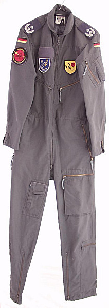 German Dark Grey Flight Suit - Click for the bigger picture