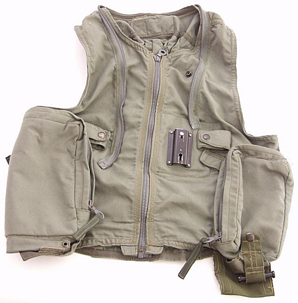 German Air Force Flight Waist Coat - Click for the bigger picture