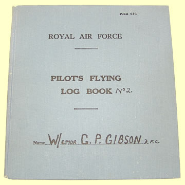 RAF Log Book - Click for the bigger picture