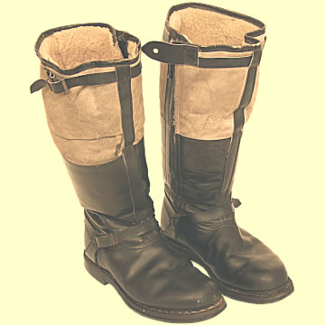 Luftwaffe Flying Boots - Click for the bigger picture