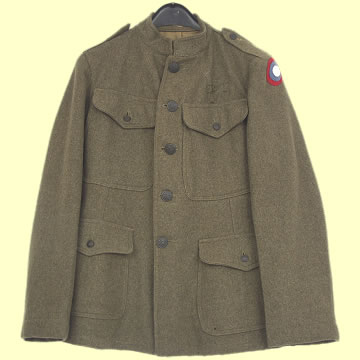 US WWI Enlisted Man\'s Winter Tunic - Click for the bigger picture