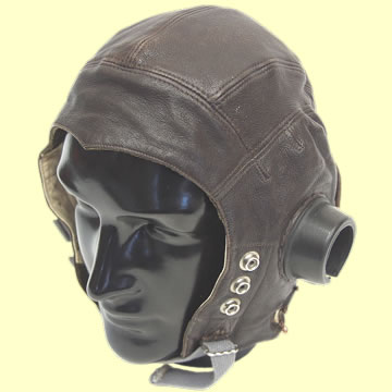 RAF C Type Flying Helmet 2nd Pattern - Click for the bigger picture