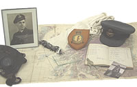John Bristow's wartime memorabilia - Click for a bigger picture