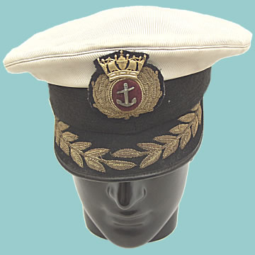 Naval Captain\'s Hat - Click for the bigger picture