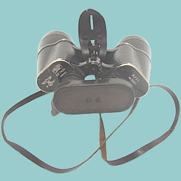 Kreigsmarine WWII Binoculars by Carl Zeiss - Click for the bigger picture