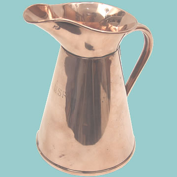 RMSP Copper Jug - Click for the bigger picture