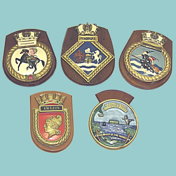 Naval Ship's Plaques - Click for the bigger picture
