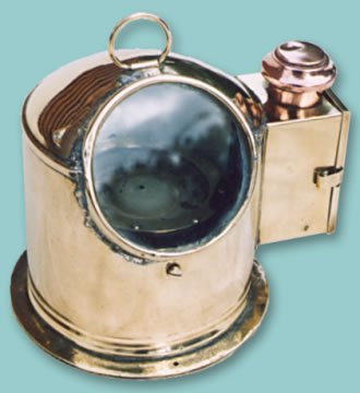 Ship\'s Lifeboat Binnacle - Click for the bigger picture