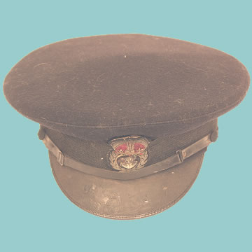 WWII Chief Petty Officer\'s Cap - Click for the bigger picture
