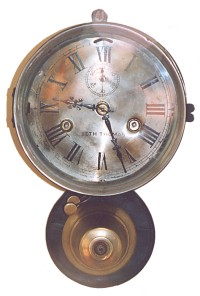 """Seth Thomas"" Ship's Bell Clock"