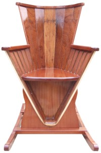 Rocking Chair made from a Merlin Rocket