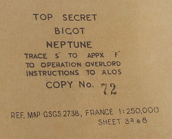 More Top Secret Operation Overlord classified documentation
